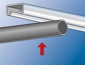 Зажим для труб и кабелей